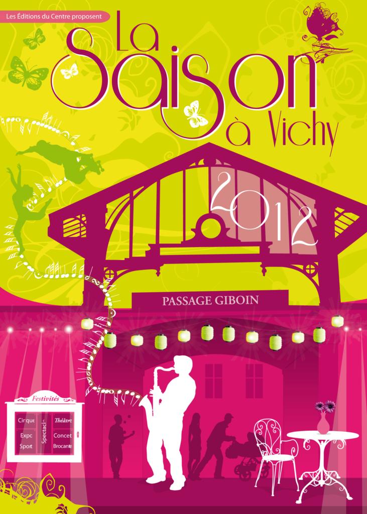 couverture Saison à Vichy 2012