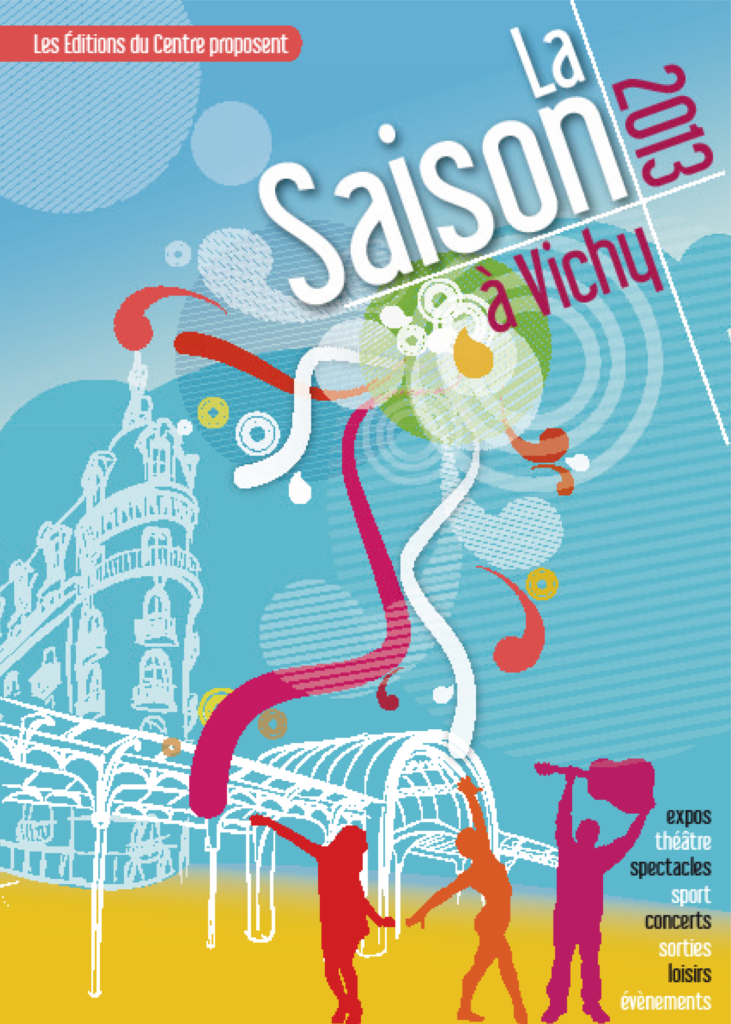 couverture Saison à Vichy 2013