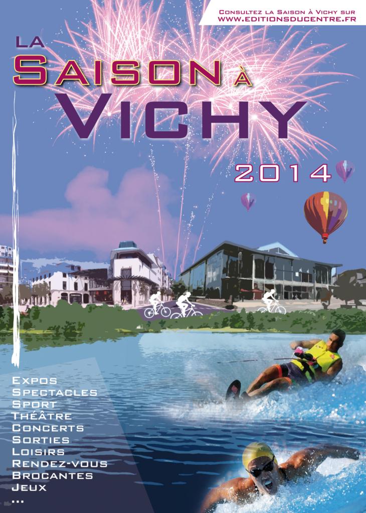 couverture Saison à Vichy 2014