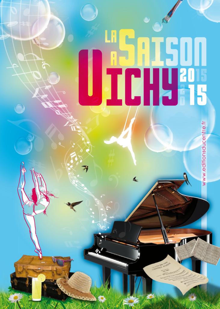 couverture Saison à Vichy 2016