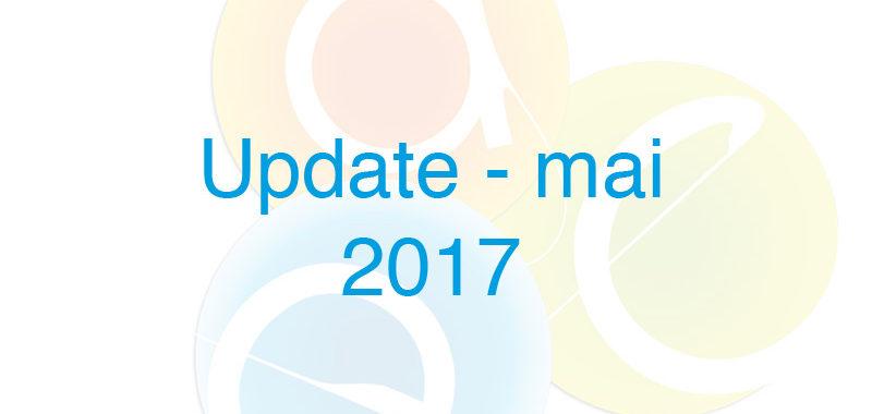 update mai 2017